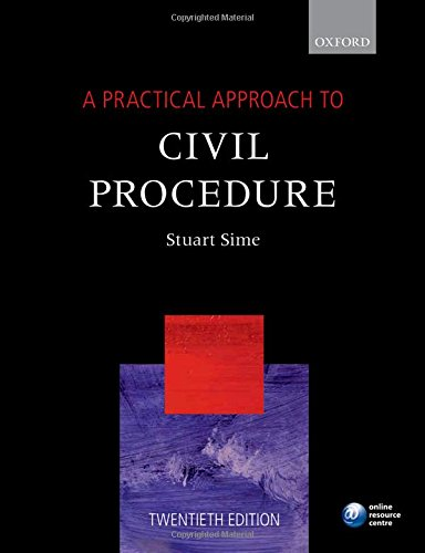 9780198787570: A Practical Approach to Civil Procedure