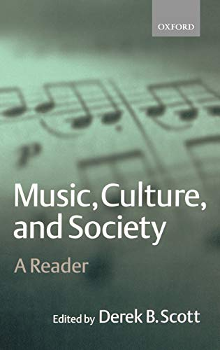 9780198790112: Music, Culture, and Society: A Reader