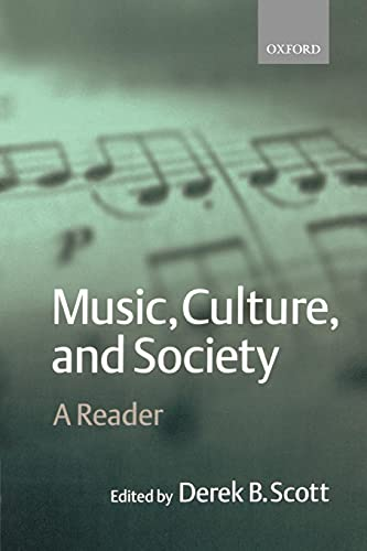 9780198790129: Music, Culture, and Society: A Reader