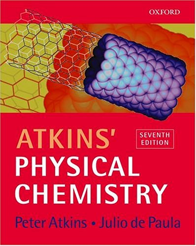 9780198792857: Atkins' Physical chemistry