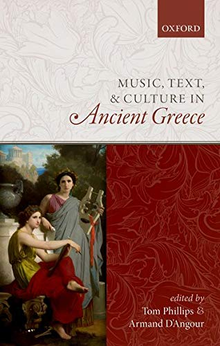 9780198794462: Music, Text, and Culture in Ancient Greece