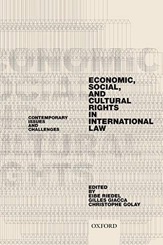 9780198794745: Economic, Social, and Cultural Rights in International Law: Contemporary Issues and Challenges
