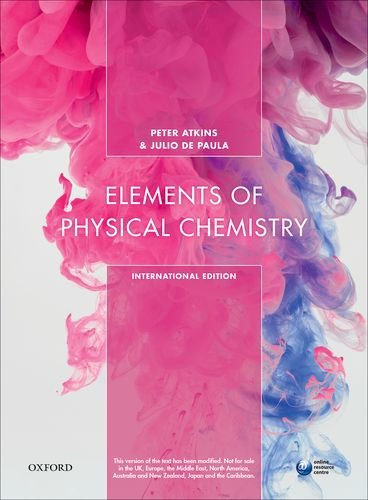 9780198796350: Elements Physical Chemistry 7Th Edition