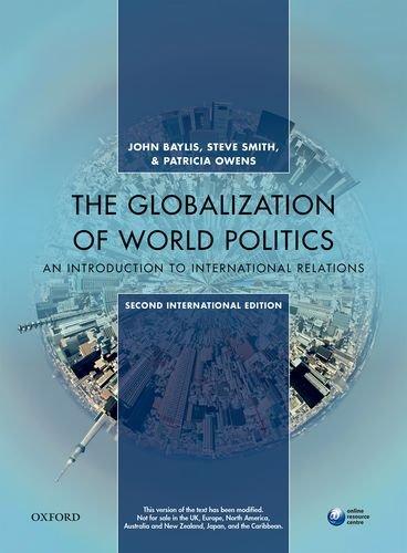 Globalization of world politics by baylis and smith abebooks globalization of world politics john baylis steve fandeluxe Images