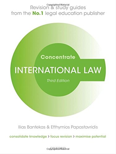 9780198803874: International Law Concentrate: Law Revision and Study Guide