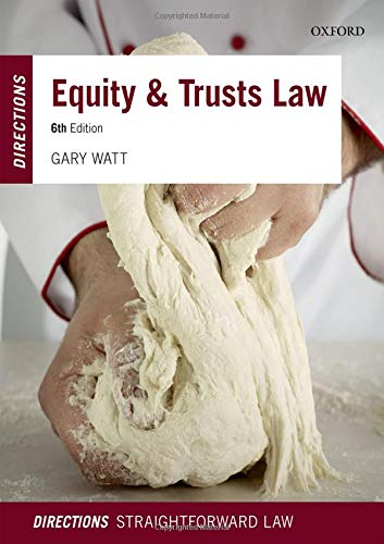 9780198804703: Equity & Trusts Law Directions