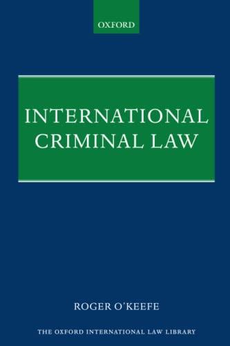 9780198806202: International Criminal Law (Oxford International Law Library)