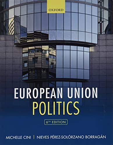 9780198806530: European Union Politics