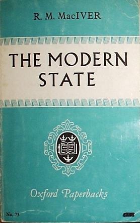 Modern State: R M Maciver