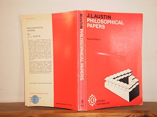 9780198811664: Philosophical Papers (Oxford Paperbacks)