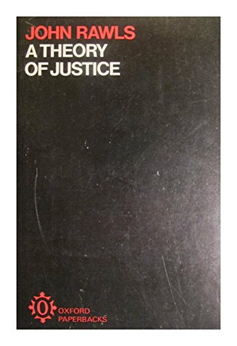 9780198813019: A Theory Of Justice