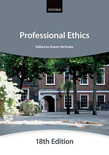 Professional Ethics (Bar Manuals): The City Law