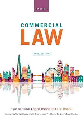9780198825975: Commercial Law