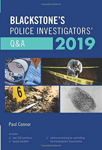 9780198831365: Blackstone's Police Investigators' Q&A 2019