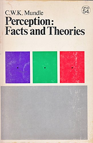 Perception: Facts and Theories