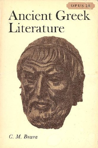 9780198880288: Ancient Greek Literature (Opus Books)