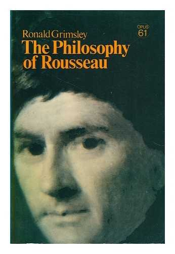 9780198880622: The Philosophy of Rousseau (Opus Books)