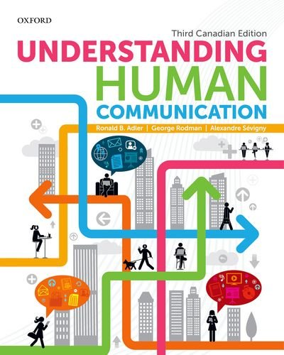 9780199004195: Understanding Human Communication: Third Canadian Edition