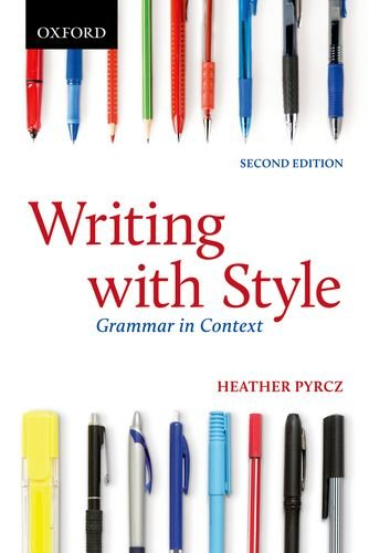 9780199007905: Writing with Style: Grammar in Context