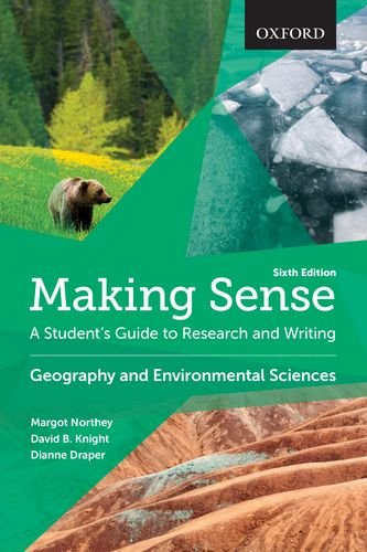 9780199010226: Making Sense in Geography and Environmental Sciences: A Student's Guide to Research and Writing