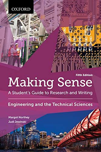 9780199010257: Making Sense in Engineering and the Technical Sciences: A Student's Guide to Research and Writing