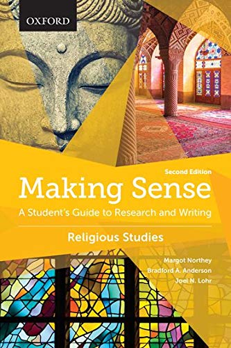 9780199010349: Making Sense in Religious Studies: A Student's Guide to Research and Writing