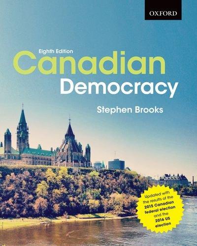 9780199011155: Canadian Democracy
