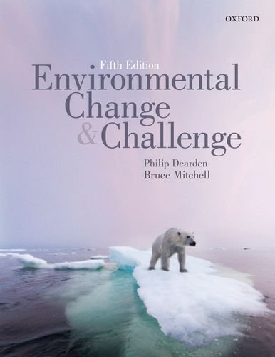 9780199015146: Environmental Change and Challenge: A Canadian Perspective, Fifth Edition