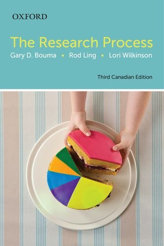 9780199018604: The Research Process: Canadian Edition
