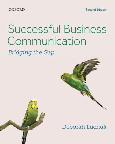 9780199018987: Successful Business Communication: Bridging the Gap