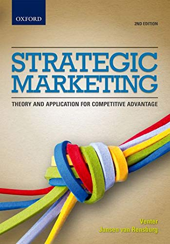 Strategic Marketing: Prof Pierre Joubert