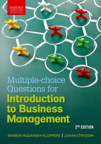9780199045341: Multiple Choice Question Book for Introduction to Business Management