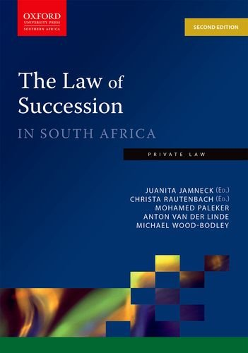 9780199045426: The Law of Succession in South Africa (Private Law)