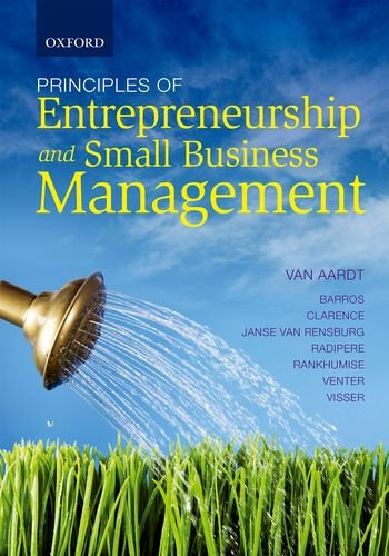 9780199046034: Principles of Entrepreneurship and Small Business Management