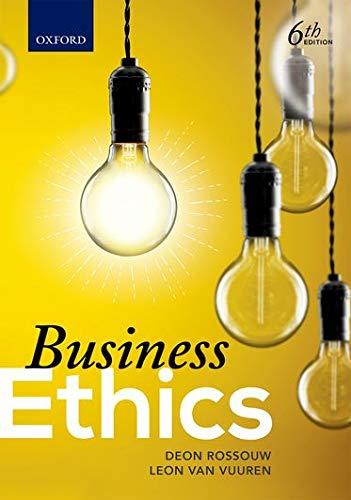 9780199048113: Business Ethics