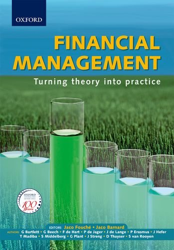 Financial Management: Turning Theory into Practice: Bartlett, Gillian/ Beech,