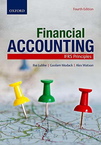 FINANCIAL ACCOUNTING: IFRS PRINCIPLES.: Lubbe, Ilse and