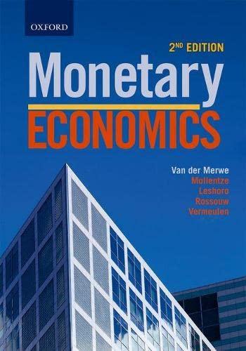 9780199050703: Monetary Economics in South Africa