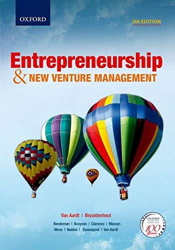 Entrepreneurship & New Venture Management 5e 5/e: van Aardt, Isa;