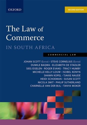 9780199054732: The Law of Commerce in South Africa