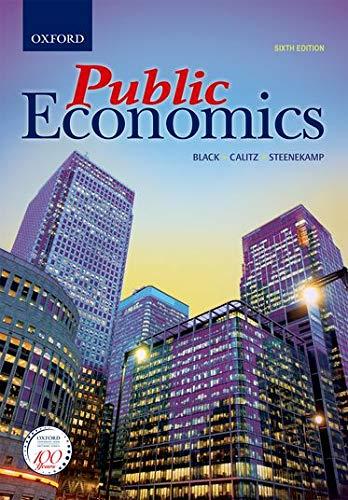 9780199059089: Public Economics
