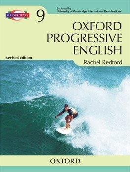 9780199061228 oxford progressive english book 9 abebooks rachel rh abebooks com For Present Progressive Action Pictures Progressive Elementary School Teachers