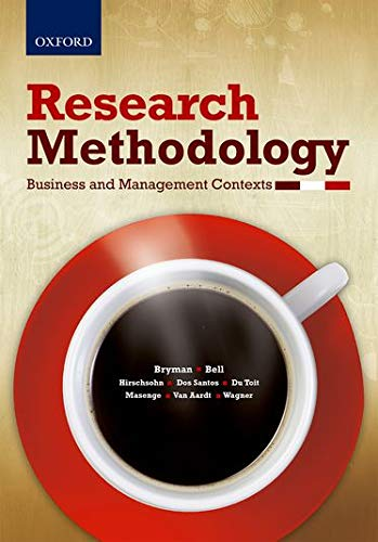 9780199076130: Research Methodology: Business and Management Contexts