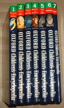 9780199101634: Oxford Childrens Encyclopedia Full Set (Sea to zulus , biography , index , monsters to sculpture , ghosts to monsoon , comics to ghana , aborigines to comets)
