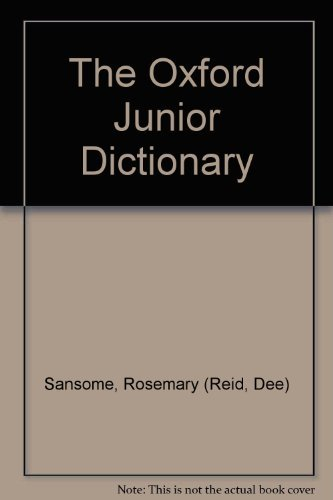 9780199102259: The Oxford Junior Dictionary