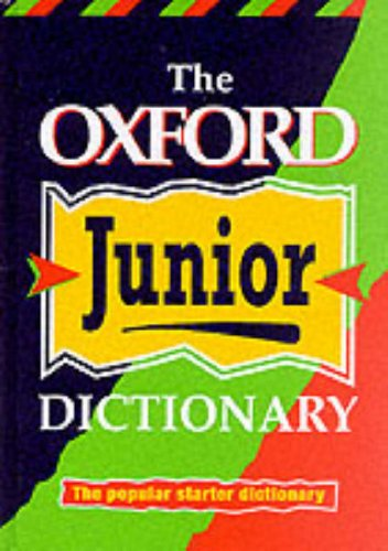 9780199103041: OXFORD JUNIOR DICTIONARY (NEW ED)