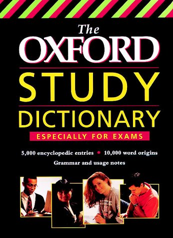 9780199103126: The Oxford Study Dictionary