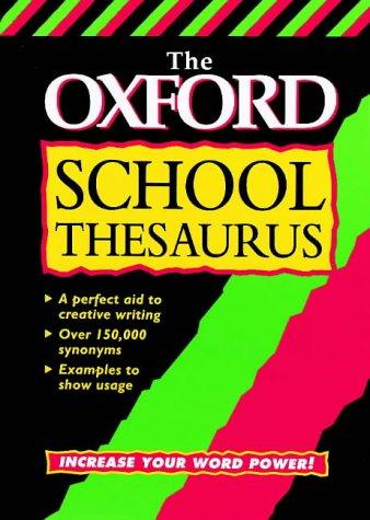 9780199103959: OXFORD SCHOOL THESAURUS