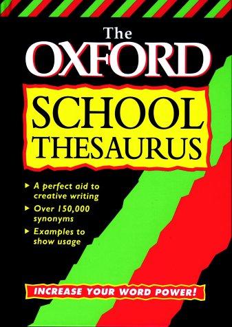 9780199103966: The Oxford School Thesaurus