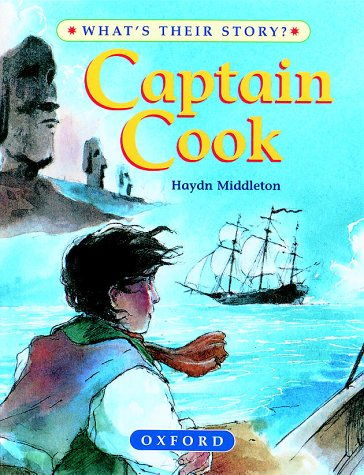 9780199104413: Captain Cook (What's Their Story?)